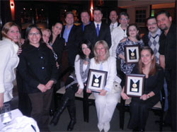 Apple Vacations' Sales team with Golden Apple Travel Agents from New Jersey