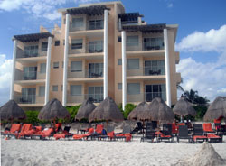 Ocean-Front rooms at Now Jade Riviera Cancun