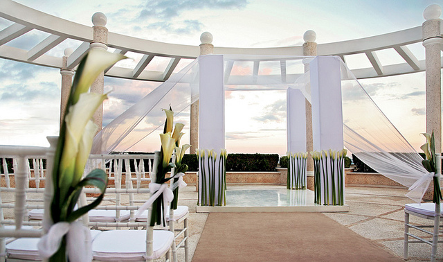 photo credit sandos cancun luxury resort destination wedding - The Destination A Luxury Resort