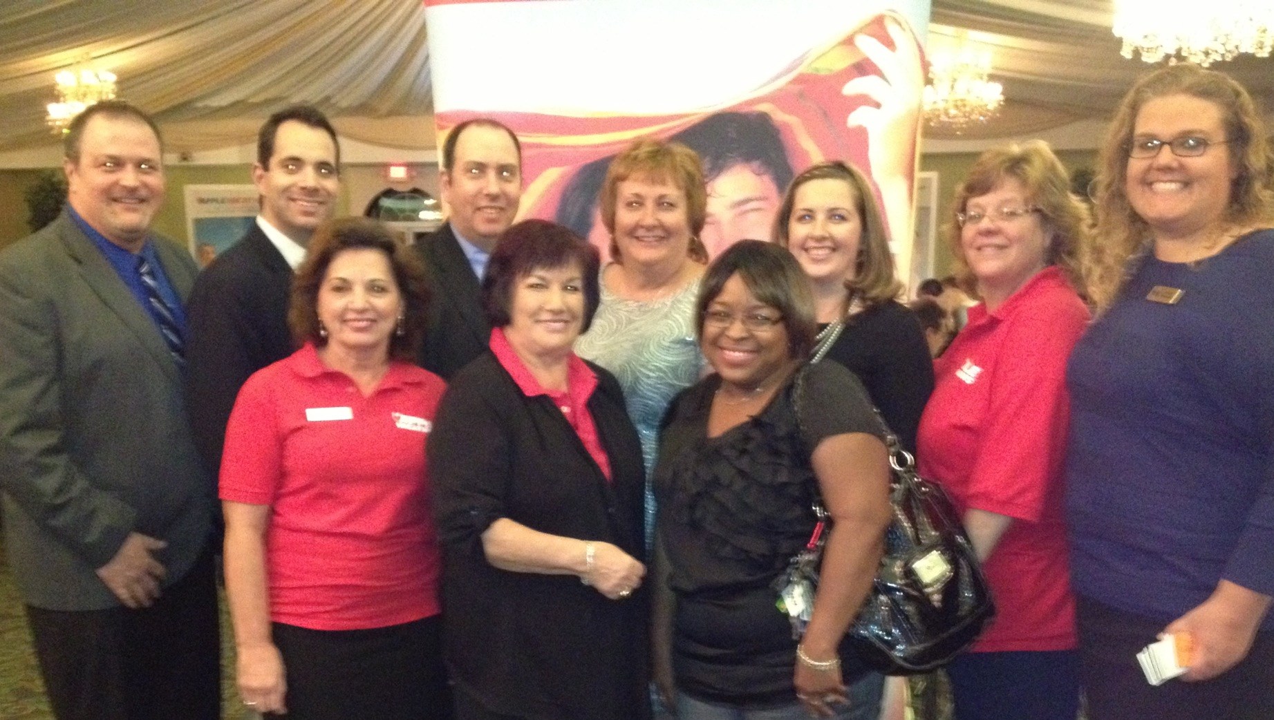 Apple Vacations team in Cherry Hill, N.J.