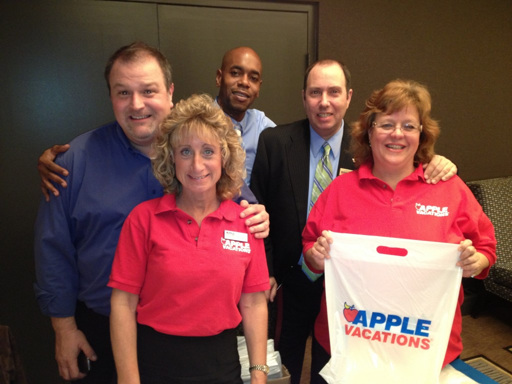 Apple Vacations team in Hasbrauck Heights, N.J.