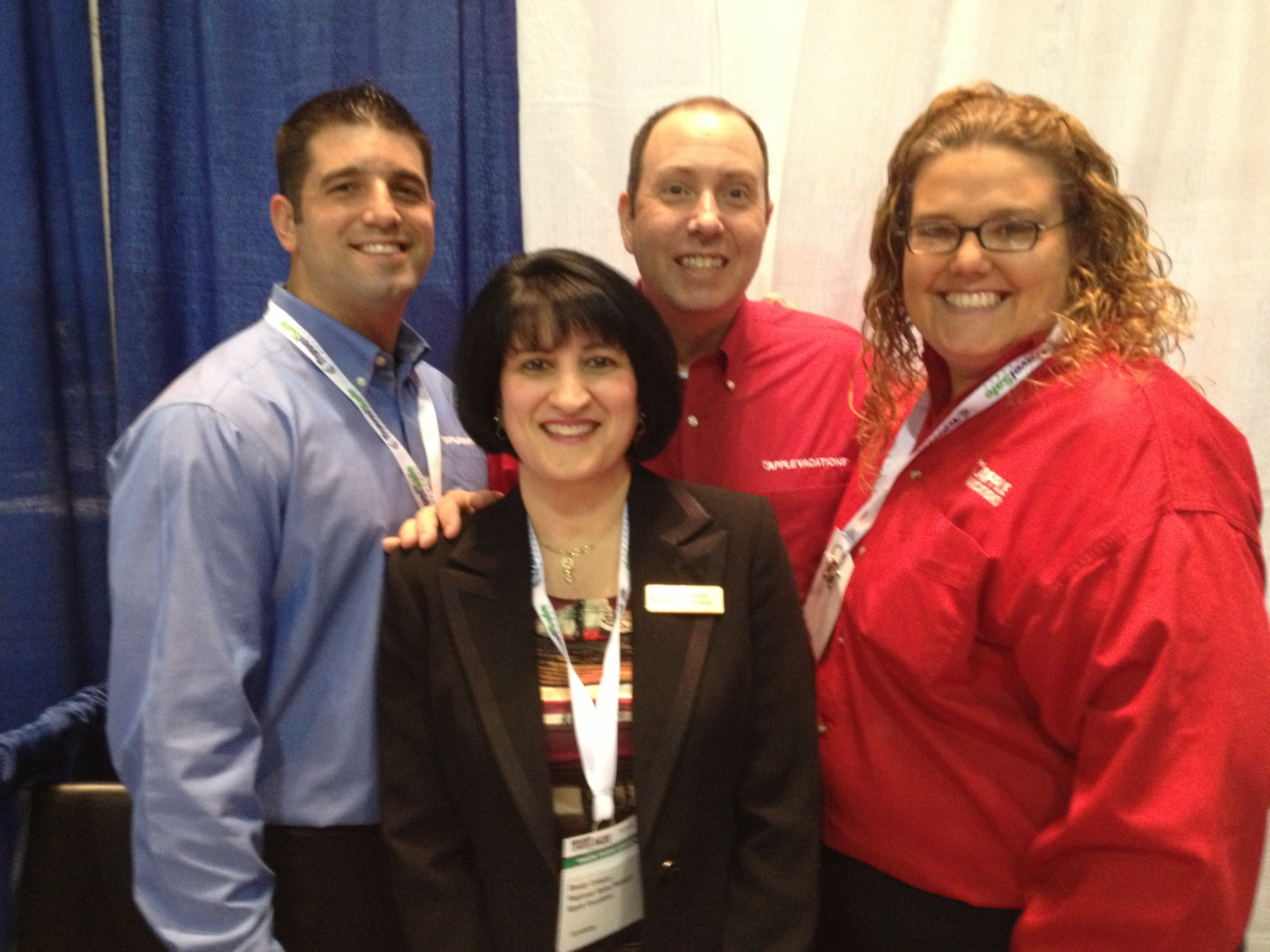 Apple team at the OSSN show in Atlantic City