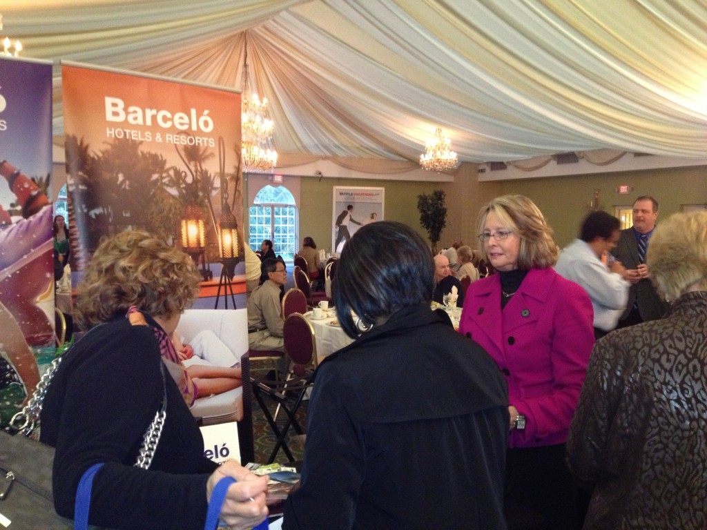 Suzanne Dulaney from Barcelo Hotels & Resorts at our Cherry Hill Show