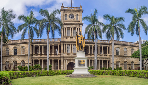 Iolani Palace, Honolulu, HI